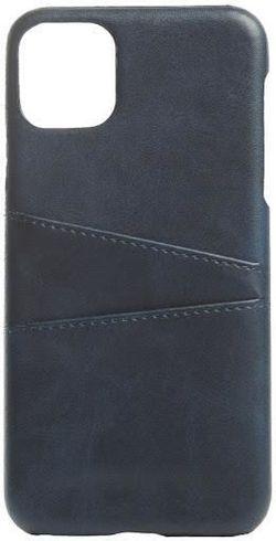 купить Чехол для смартфона Helmet iPhone 11 Pro Blue Leather With Pocket в Кишинёве