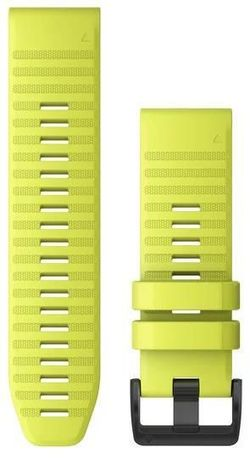 купить Аксессуар для моб. устройства Garmin QuickFit fenix 6X 26mm Amp Yellow Silicone Band в Кишинёве