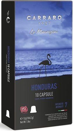 Капсулы для кофемашин Carraro Honduras Compatible Nespresso 10caps