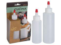 Набор бутылочек для украшения с насадкой Cucina 2шт 60/120ml