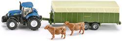 cumpără Jucărie Siku  1863 Tractor with livestock trailer(d) în Chișinău