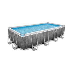 Pool Power Steel 488x244x122cm, 11532L, cadru metalic