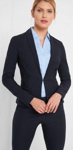 Пиджак ORSAY Темно синий 480226