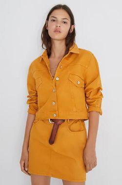Куртка ZARA Желтый 5899/181/305