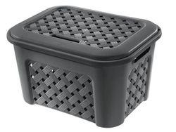 Коробка с крышкой Arianna 23.6l, 43.5Х33.5Х26cm