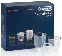 купить Стакан DeLonghi DLSC302 SET 6 Glasses Mix 60ml/190ml/220ml в Кишинёве