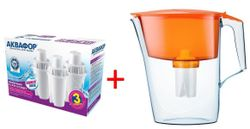 купить Картридж для фильтров-кувшинов Aquaphor B100-15 (K3) + Стандарт в Кишинёве