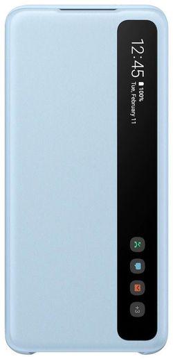 купить Чехол для моб.устройства Samsung EF-ZG980 Clear View Cover Sky Blue в Кишинёве
