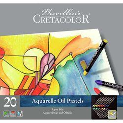 Set de creioane profesionale de ceară Cretacolor 20 cul.