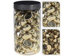 Набор камней декоративных 225gr, золотые