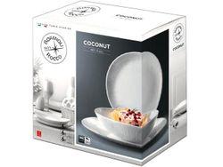 Набор тарелок Bormioli Coconut 18ед