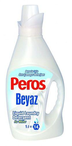 Жидкий стиральный порошок PEROS 1л White