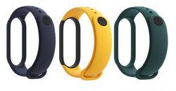 cumpără Accesoriu pentru aparat mobil Xiaomi Mi Band 5 Strap Blue-Yello-Green în Chișinău