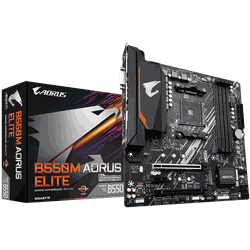 MB AM4 Gigabyte B550M AORUS ELITE 1.0  mATX