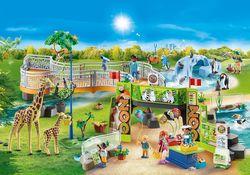 cumpără Jucărie Playmobil PM70341 Large City Zoo în Chișinău