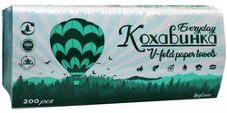 Полотенца бумажные Kohavinka V 1 слой 200