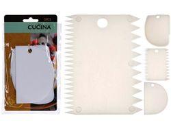 Набор кондитерских скребков Cucina 3ед 12X8cm