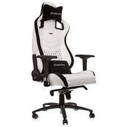 Gaming Chair Noble Epic NBL-PU-WHT-001 White