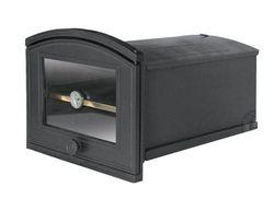 Духовка чугунная со стеклом и термометром PZE2Т