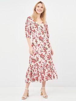 Платье Stradivarius Цветочный принт 6359/601/004
