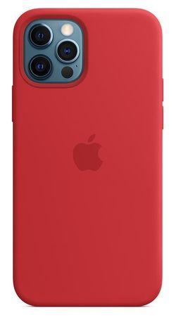 купить Чехол для смартфона Helmet iPhone 12 PRO MAX Red Liquid Silicone Case в Кишинёве
