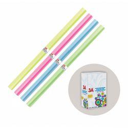 Обложкa для книг и тетрадей в рулоне 40*150см цветная 3A