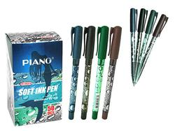 Ручка шариковая PT-1153 soft ink,1mm, синяя