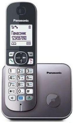 купить Телефон беспроводной Panasonic KX-TG6811UAM в Кишинёве