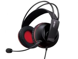 Gaming Headset Asus Cerberus, 60mm driver, Neodymium magnet, 32 Ohm, 97db, 20-20000 Hz, 3.5mm, Black