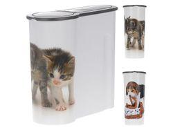 Cutie pentru hrana animalelor 4L, 25X12X25cm, plastic