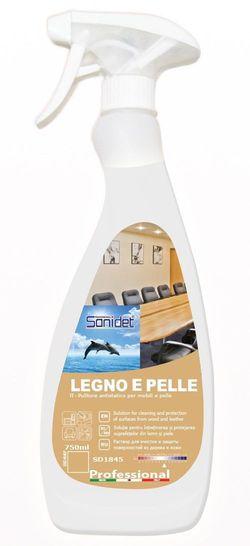 LEGNO E PELLE - SOLUTIE SUPRAFETE DIN LEMN SI PIELE (750ML)