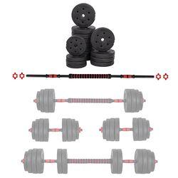 Набор дисков и грифов 40 кг inSPORTline Cembar 22066 (4565)