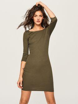 Платье RESERVED Хаки tp826-87x