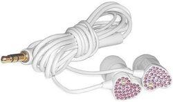 Наушники Elecom Gem Drops White/Pink (E11000)