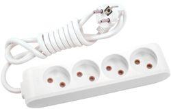 купить Удлинитель электрический Viko 112403 Multi-Let 4 гнезда б/з 3м (16A) в Кишинёве
