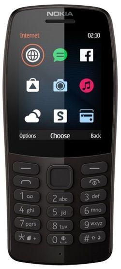 Nokia 210 Duos Black