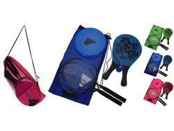 Set joc : badminton + fluturas, tenis + minge, farfurie zburatoare