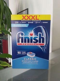 Таблетки для чистки и ухода за посудомоечной машиной Finish Powerball 90шт