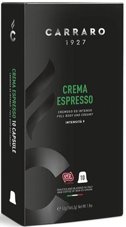 Капсулы для кофемашин Carraro Crema Espresso Compatible Nespresso 10caps