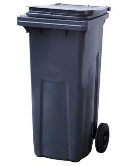 120L, Kонтейнеры для мусора, черный