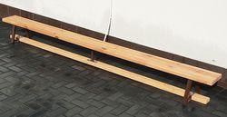Гимнастическая скамья деревянная 2 м (1351) (под заказ)