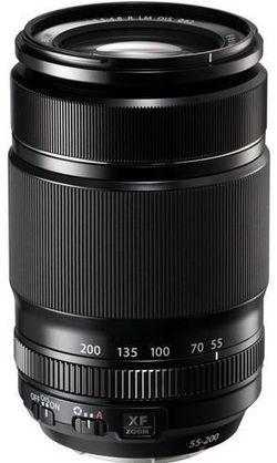 купить Объектив FujiFilm Fujinon XF55-200mm F3.5-F4.8 R OIS black в Кишинёве