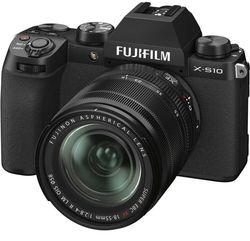 cumpără Aparat foto mirrorless FujiFilm X-S10 black/XF18-55mm Kit în Chișinău