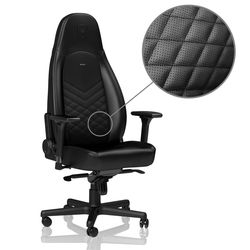 Gaming Chair Noble Icon NBL-ICN-PU-BLA Black/Black