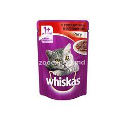 Whiskas желе говядина и ягненок