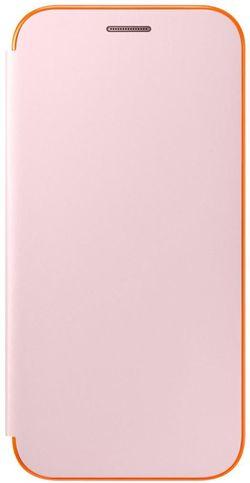 купить Чехол для моб.устройства Samsung EF-FA520, Galaxy A5 2017, Neon Flip Cover, Pink в Кишинёве