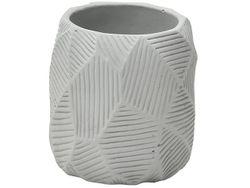 Стакан для зубных щeток Stamp, серый, керамика
