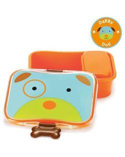 Пластиковый контейнер для бутербродов Skip Hop Zoo Собака