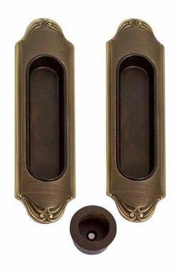 Комплект ручек для раздвижных дверей 1028-MBR матовая бронза