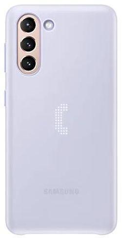 cumpără Husă pentru smartphone Samsung EF-KG991 Smart LED Cover Violet în Chișinău